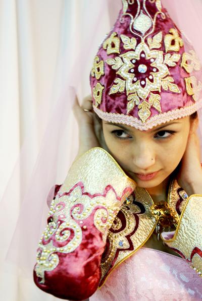 Казахское платье фото